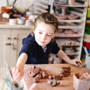 Ceramic Summer Clay Day | August 7 | Ages 5-9