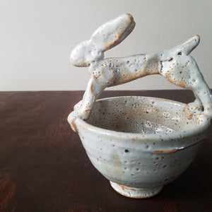Ceramic Troy Bungart | Small Rabbit Bowl