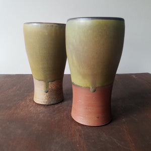 Ceramic Kevin Kwitkowski | Brown Tumbler Set