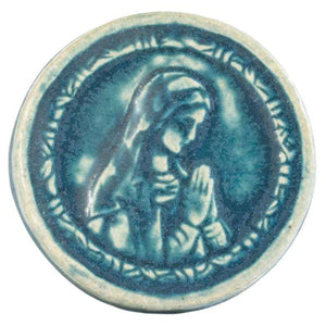 Ceramic Blessed Virgin Mary Tile