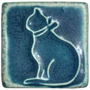 Ceramic Cat Tile