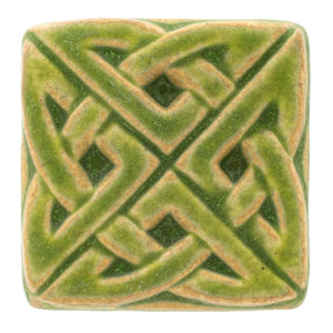 Ceramic Eternity Knot Tile