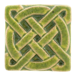 Ceramic Journey Knot Tile