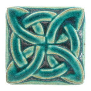 Ceramic Lover's Knot Tile