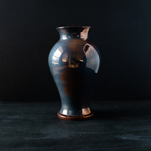 Ceramic Large Classic Vase | Copper Iridescent IV