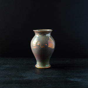 Ceramic Small Classic Vase | Blush Iridescent