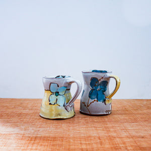 Ceramic Susan McHenry | Flower Mugs