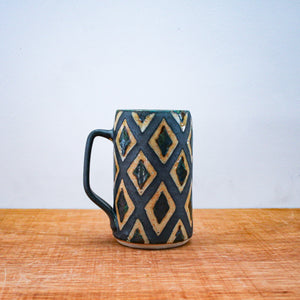 Ceramic Peter Karner | Large Patterned Mug