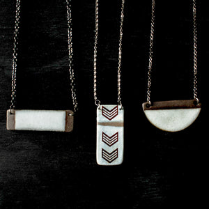 Ceramic Dotti Potts | Necklace