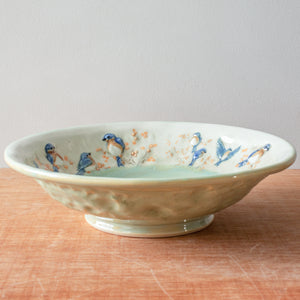 Ceramic Jen Stein | Small Bluebird Bowl