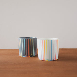 Ceramic Forest Ceramic Co. | Rainbow Drip Tumbler