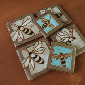 Ceramic Marina Bosetti | Bee Tile Collection