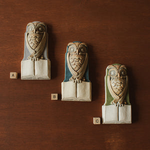 Ceramic David Ellison | Miniature Owl Collection