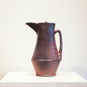 Ceramic Kenyon Hansen | Tall Covered Pitcher