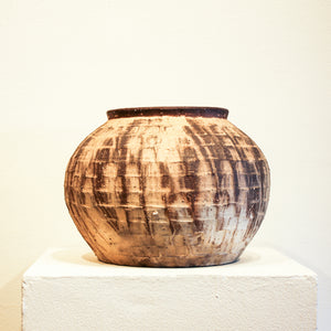 Ceramic Mitch Yung | Carved Vase Onggi