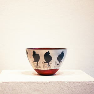 Ceramic Sally Jaffee | Cat Bowl