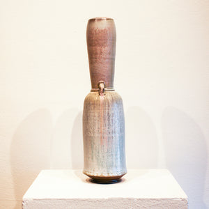 Ceramic Brett Gray | White, Blue, & Pink Vase
