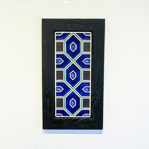 Ceramic Framed Guardian Geo Tile