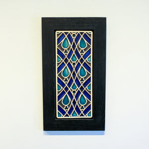 Ceramic Framed Women's Club Tile