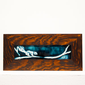 Ceramic Martha Enzler | Framed Squirrel Tile