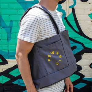 Ceramic Pewabic Logo Tote Bag