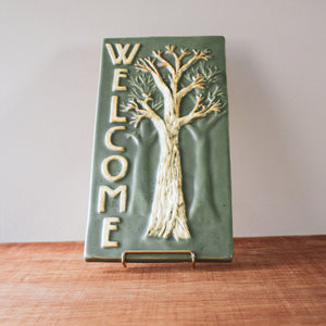 Ceramic Scott Weaver | 6x12 Welcome Tree Tile