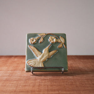 Ceramic Scott Weaver | 4x4 Hummingbird Tile