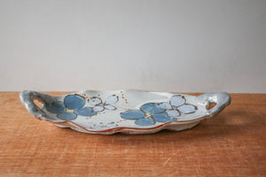 Ceramic Susan McHenry | Large Floral Tray