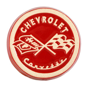 Ceramic '53 Corvette Logo Tile