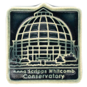 Ceramic Belle Isle Conservatory Tile