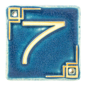 Ceramic Address Number 7