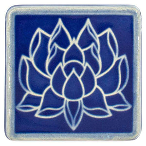 Ceramic 4x4 Lotus Tile