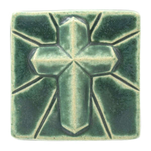 Ceramic Mario's Cross Tile