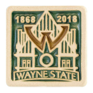 Ceramic 4X4 WSU 150th Anniversary Tile