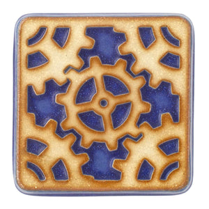 Ceramic Gear Tile, Two-Tone