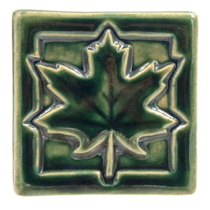 Ceramic Maple Leaf Tile