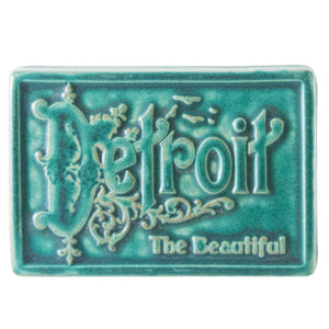 Ceramic Detroit the Beautiful Tile