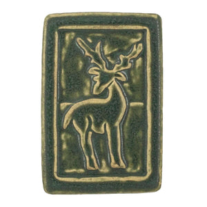 Ceramic Deer Tile