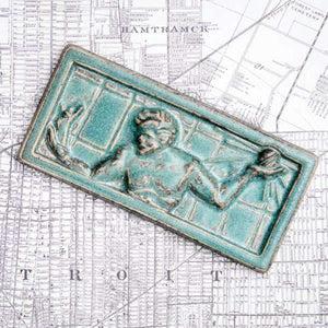 Ceramic Spirit of Detroit Tile