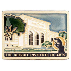 Ceramic Detroit Institute Of Art Tile
