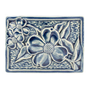 Ceramic Dogwood Tile