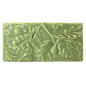 Ceramic Oak Leaves Tile
