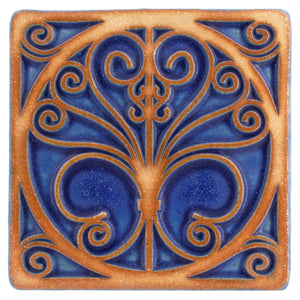 Ceramic Ironwork Tile