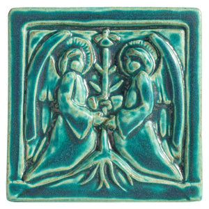 Two Angels Tile