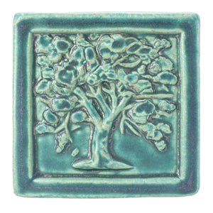 Ceramic Oak Tree Tile