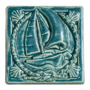 Ceramic Ship Tile