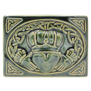 Ceramic Claddagh Tile