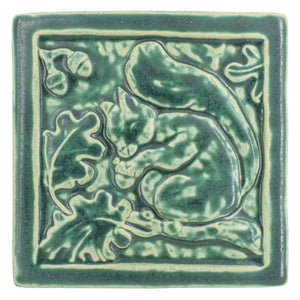 Ceramic Squirrel Tile