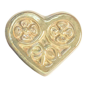 Ceramic Heart Tile, Iridescent