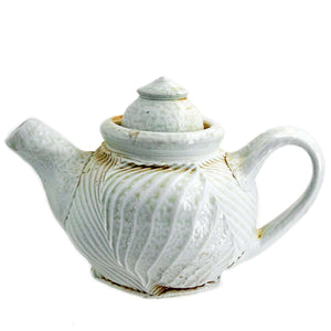 Ceramic Chris Baskin | White Teapot